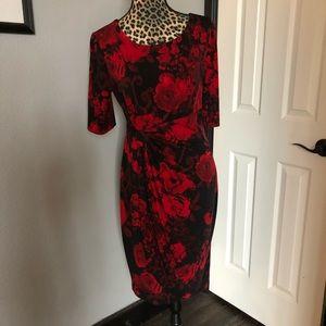 Connected Apparel sz 10 midi dress